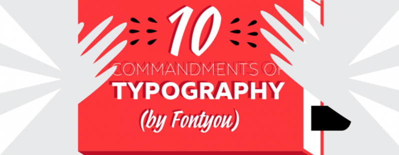 commandments of typography
