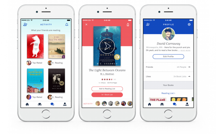 oyster profile colors 730x455 Oyster updates its app with a focus on contextual book recommendations
