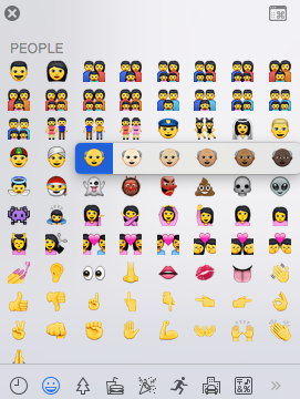 picker These are Apples new, diverse emoji