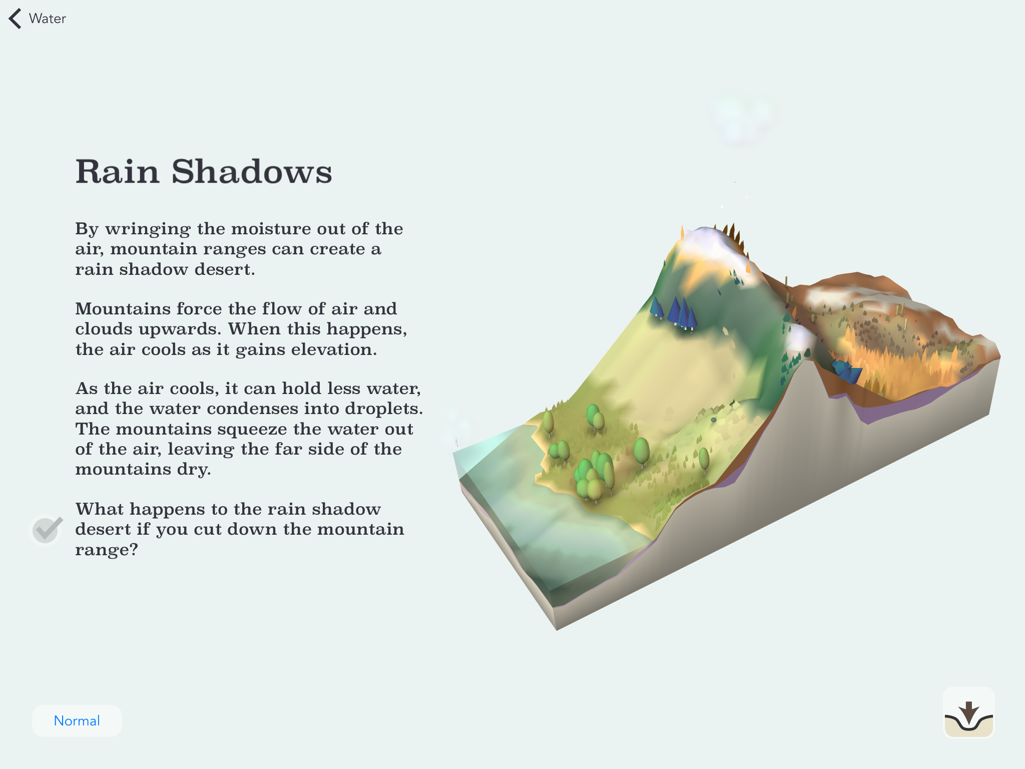 rainshadow This stunning app will make you wish all textbooks were on an iPad