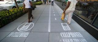 smartphone lane
