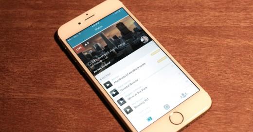 picture of Vine mobile app