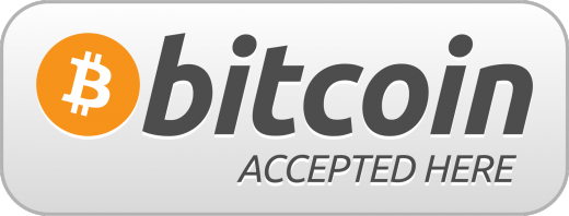 Bitcoin accepted here printable 520x198 Bitcoin is the world's most dangerous idea. Really?