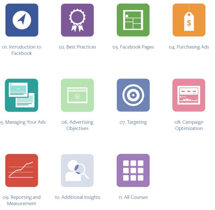 Facebook Blueprint 730x711 Facebook launches Blueprint training and certification program for brands and marketers