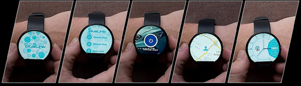 Hyundai Blue Link Smartwatch App You can now start your Hyundai car with your Android Wear smartwatch