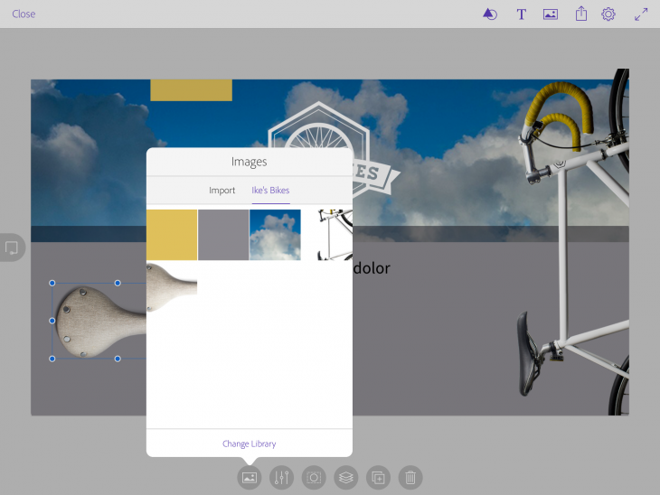 IMG 0029 730x548 Meet Adobe Comp CC, an iPad app that lets designers execute a complete layout on the go