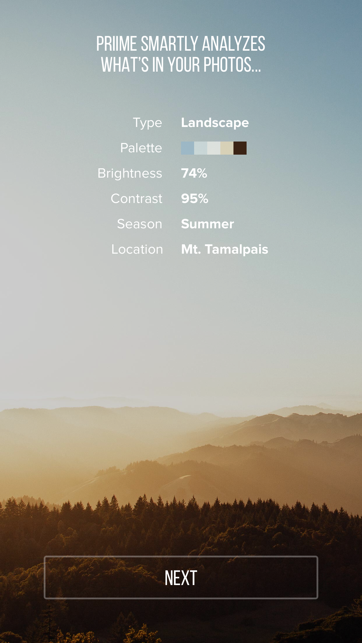 IMG 0230 Priime for iPhone intelligently suggests which filters to use on your photos