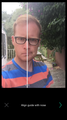 IMG 0248 220x391 Everyday for iPhone reminds you to take a selfie every day, merges them into a time lapse