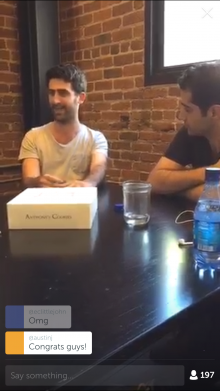 IMG 0300 220x391 Product Hunt interviews Periscope: where it came from and its pivot from photos to video