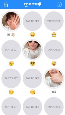 IMG 7073 220x387 Memoji Keyboard lets you send emojis of yourself