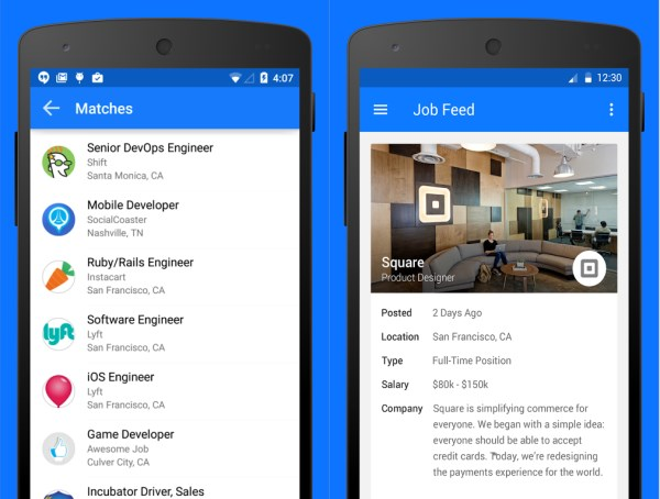 Jobr Android Jobr updates its job discovery app for iPhone and launches on Android