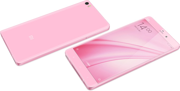 Mi Note Pink Edition 05 Xiaomi launches special edition Mi Note and Redmi 2 Android phones and a new Bluetooth weighing scale
