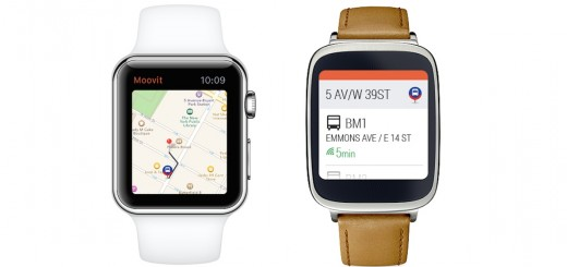 Moovit Android Wear Apple Watch