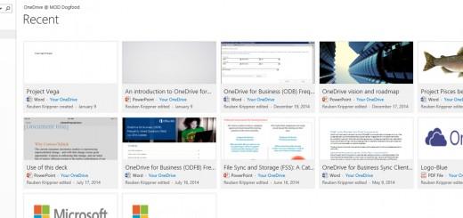 OneDrive Web update