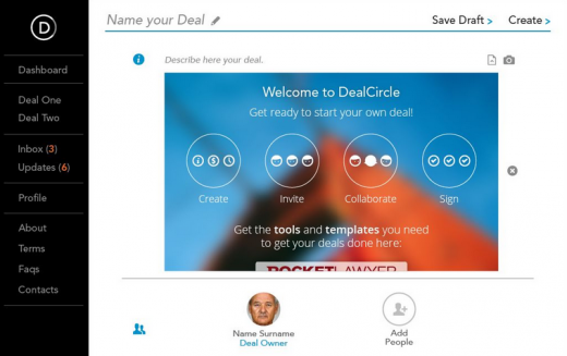 Screenshot 2015 03 27 12.30.01 520x327 DealCircle partners with Rocket Lawyer to reduce startups US legal costs