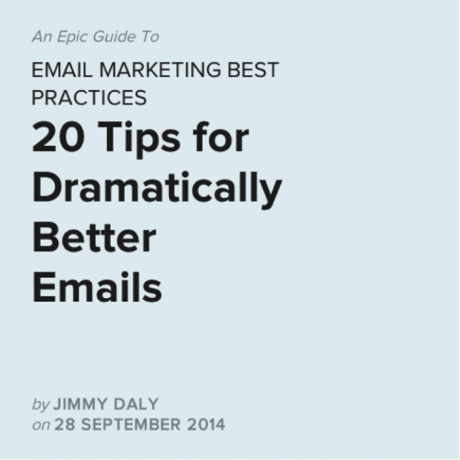 email marketing best practices 520x520 How to move readers to share your stories
