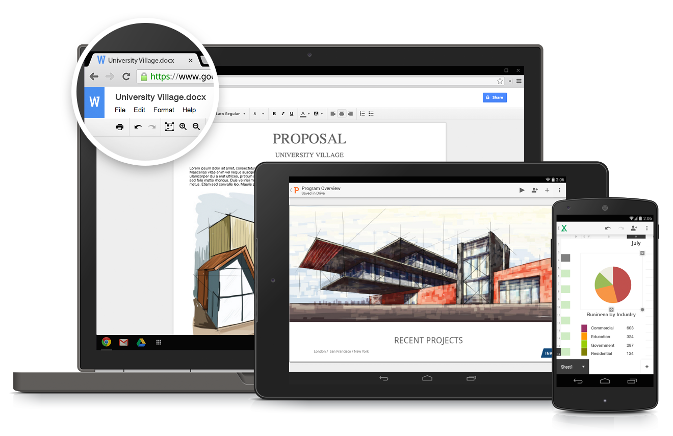 Google Drive for Work and Education add 5 settings for more control within organizations