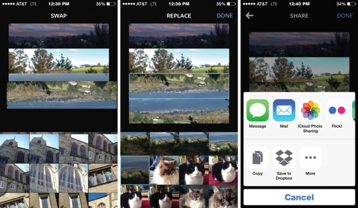 layout3 730x425 Hands on: Instagrams new Layout collage app for iOS is quick and easy, but lacks that wow factor