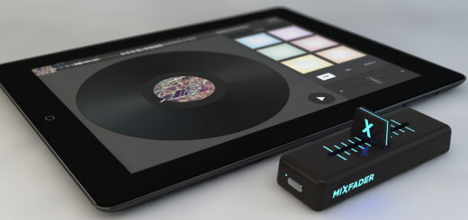 Edjing's wireless crossfader will give DJs even more control, even fewer reasons to own turntables