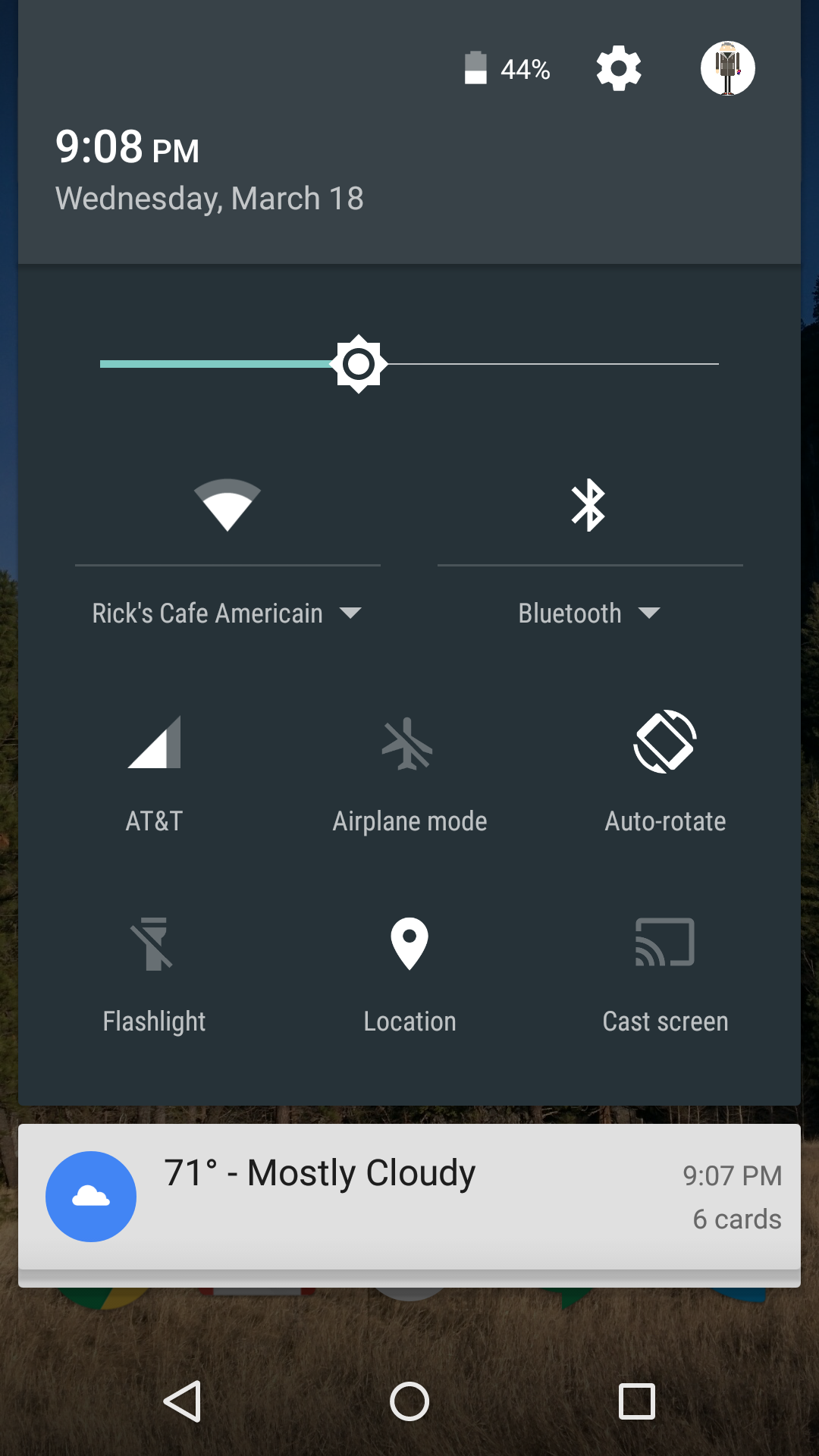 how to change bluetooth received files on android
