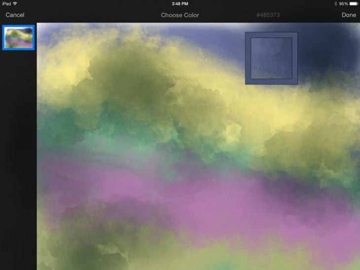 pixelmator3 730x548 Pixelmators upgraded painting technology for iPad can give anyone an artistic flair