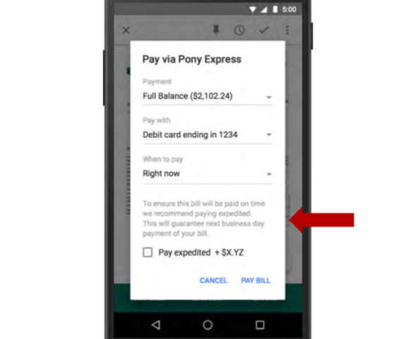 screen shot 2015 03 24 at 1 03 58 pm Google will reportedly let you pay bills in Gmail later this year