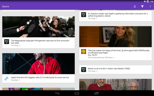 source news reader 520x325 The 15 best Android apps that use material design