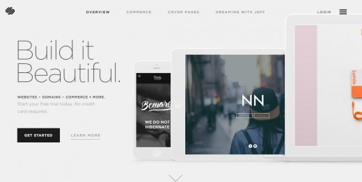 squarespace 520x262 Which website builder is right for you?