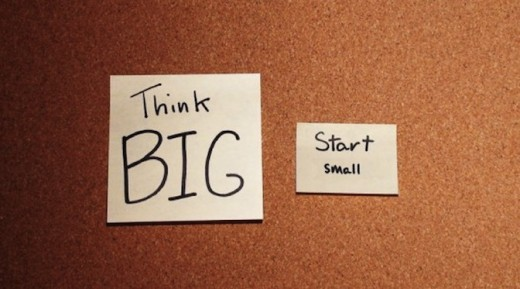 think big start small byob post1 520x289 How to put an end to workload paralysis