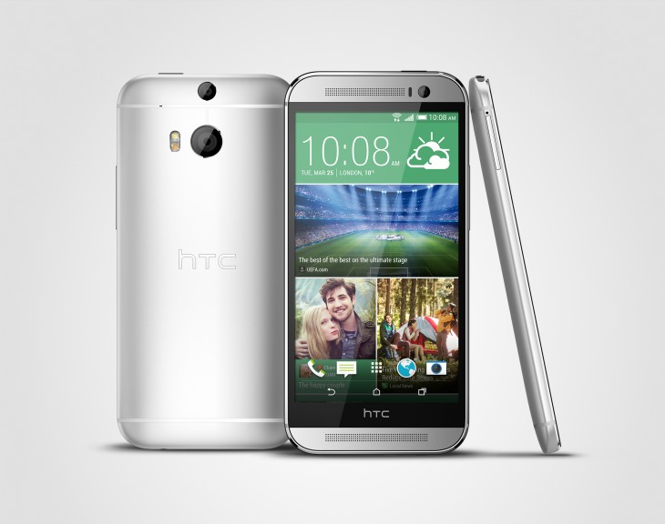 HTC One M8 3V Silver 730x576 HTC launches One M8s, which is just like the One M8 and One M9 (and pretty similar to the One M7 too)