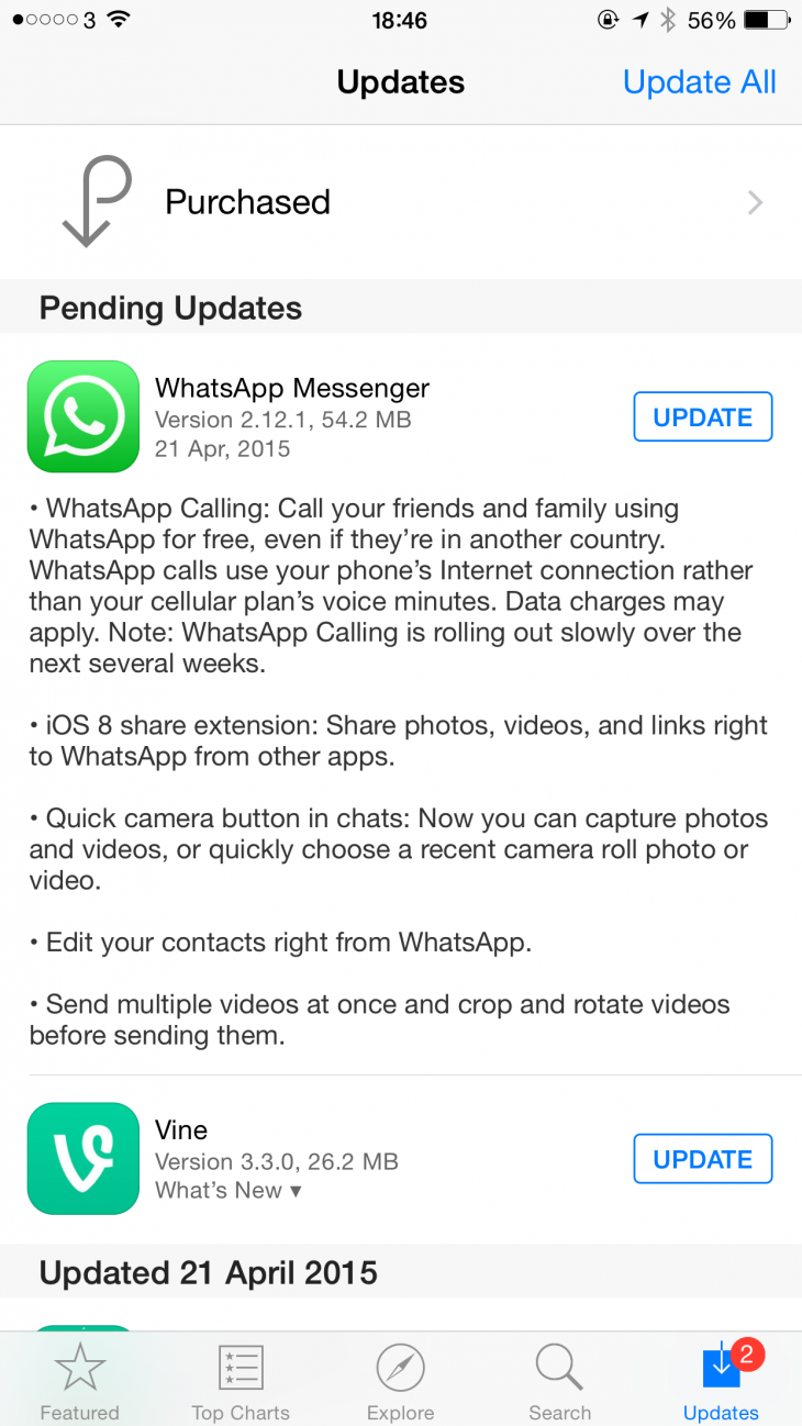 IMG 2012 730x1298 WhatsApp starts rolling out voice calling on iOS