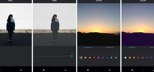 Instagram Fade Color