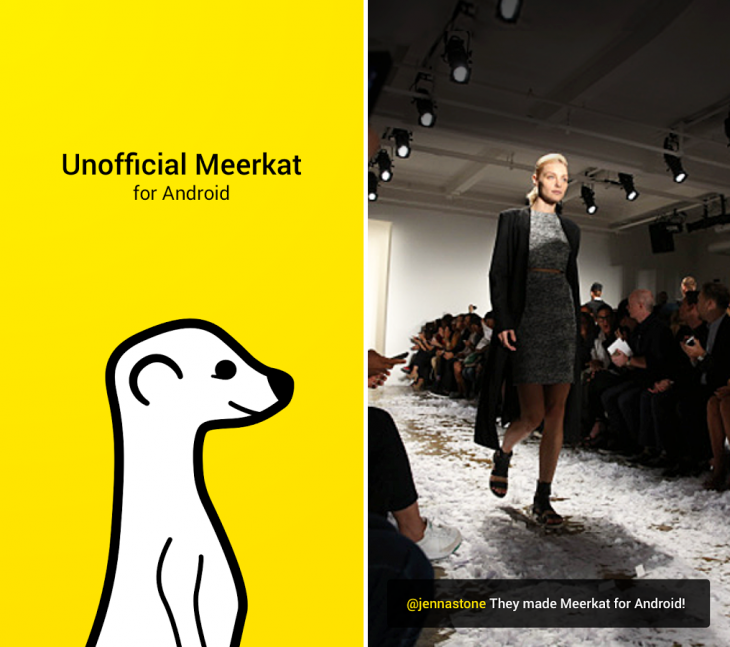 Meerkat Android 730x647 11 of the best Android apps from March