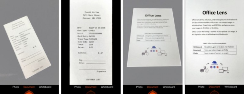 Microsoft's Lens app that converts paper files into editable documents comes to iOS and Android