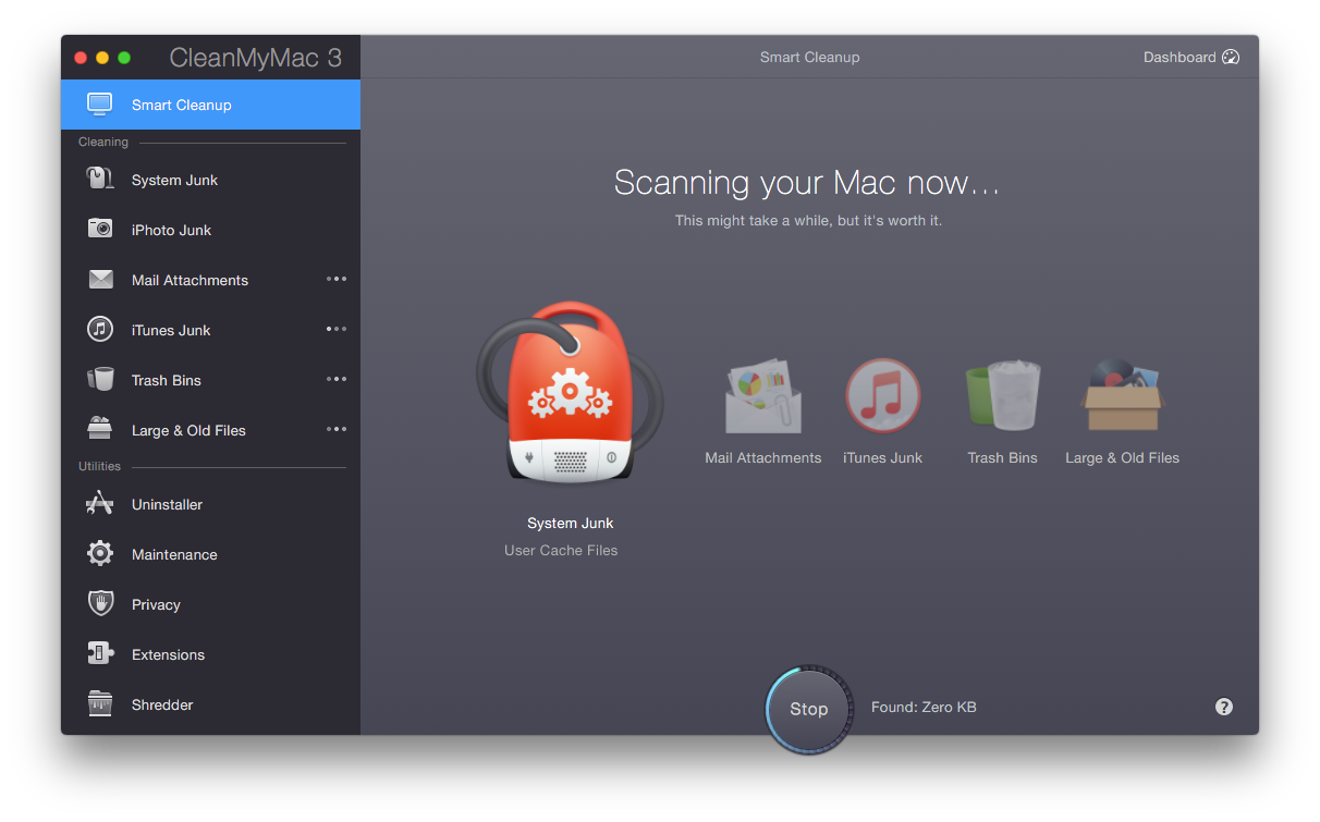 Screen Shot 2015 04 08 at 10.56.49 am CleanMyMac 3 frees up valuable space on your Mac and clears out system junk