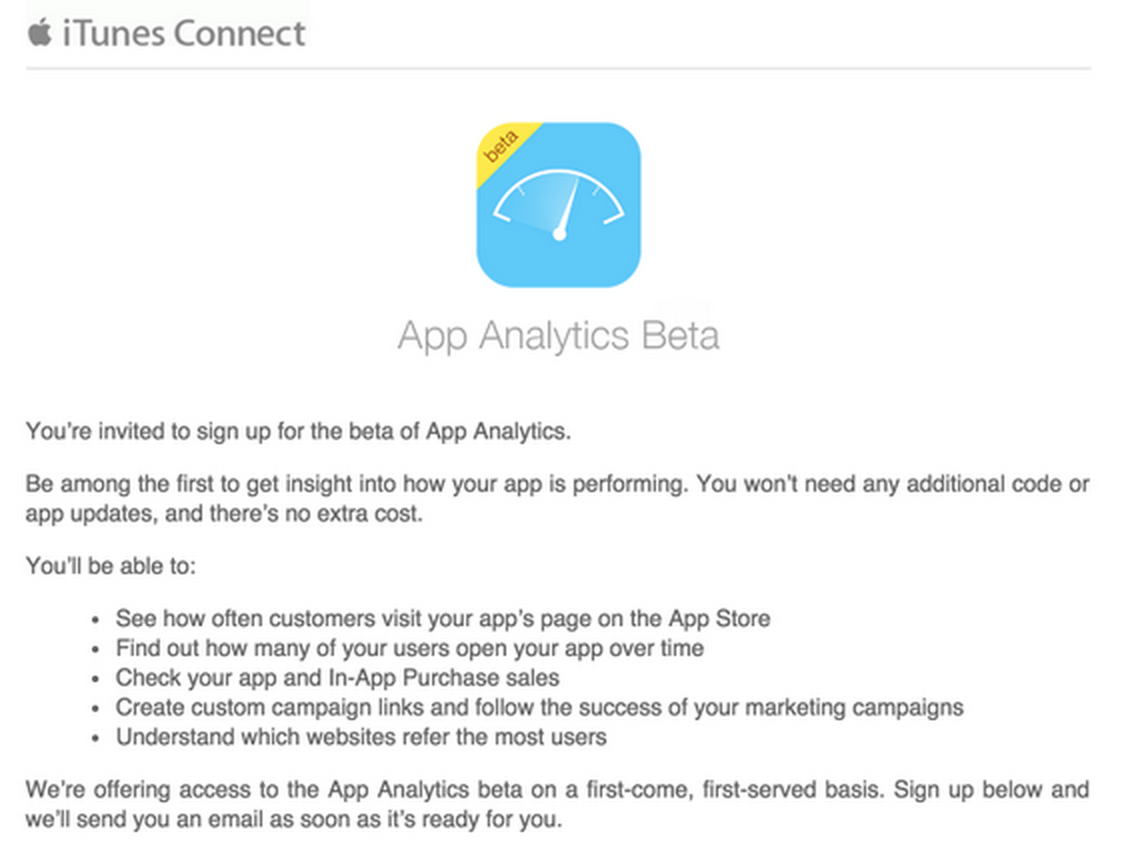 Screen Shot 2015 04 30 at 10.27.08 pm Apple is testing Analytics for the App Store