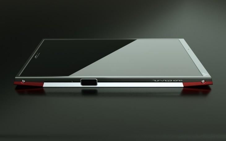TuringPhoneSide 730x456 Super durable Liquidmorphium Turing Phone promises ultra secure communications
