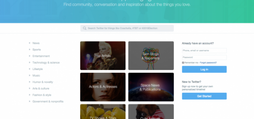 Twitter unveils a new homepage to reel in logged-out users