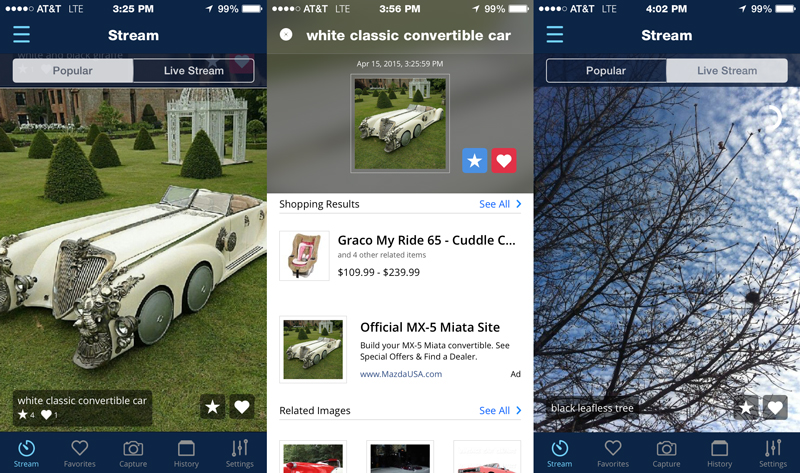 camfind10 730x432 CamFind visual search app for iPhone and Android now features a social network