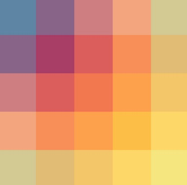 coloursquare How to create the right emotions with color in web design