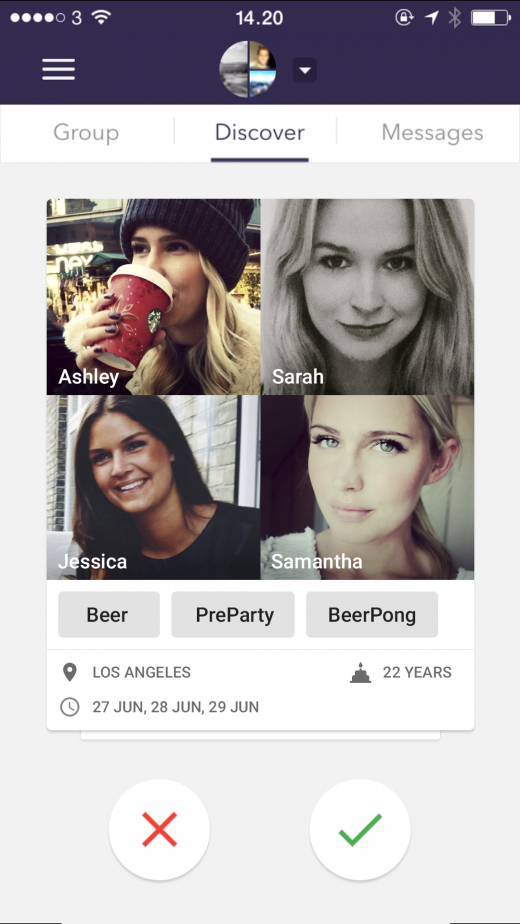 discover 520x924 Heaps wants to enhance how groups of friends socialize