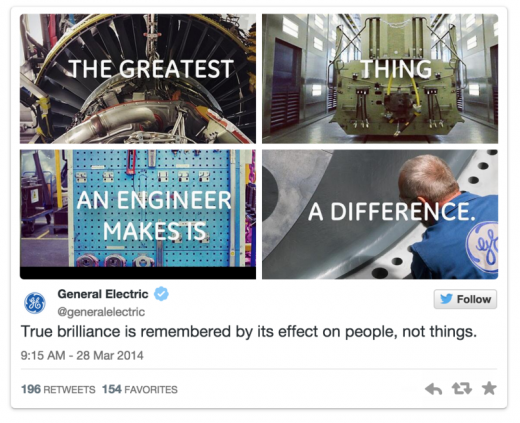 general electric photo collage twitter 800x651 520x423 11 ways to maximize engagement on your tweets