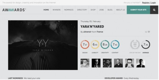grey 520x262 How to create the right emotions with color in web design