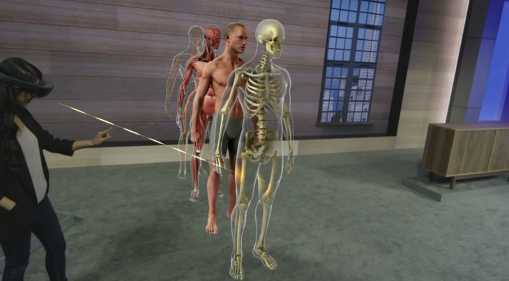 hololens anatomy 730x403 Everything Microsoft announced at Build Developer Conference 2015: Day 1