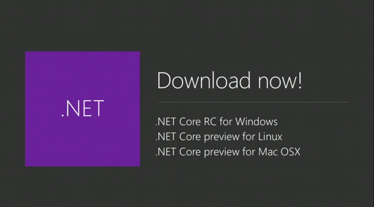 ms .net preview 730x405 Everything Microsoft announced at Build Developer Conference 2015: Day 1