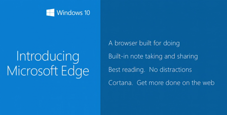 ms edge 730x371 Everything Microsoft announced at Build Developer Conference 2015: Day 1