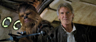 star wars the force awakens han chewy