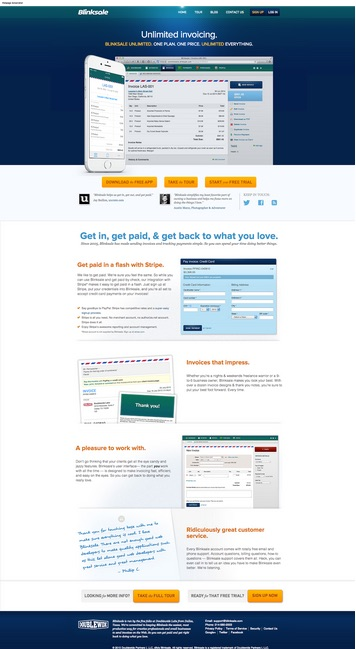 websiteexample How to create the right emotions with color in web design