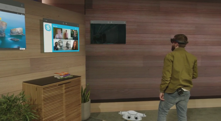 windows holographic 730x401 Everything Microsoft announced at Build Developer Conference 2015: Day 1