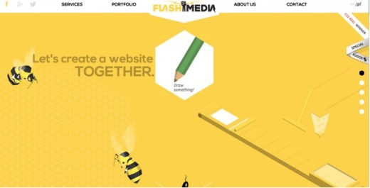yellow 520x265 How to create the right emotions with color in web design